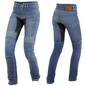 Trilobite-Parado-Motorradjeans-Femmes-Jeans-Jean-de-Securite-Pantalon-Moto-Bleu