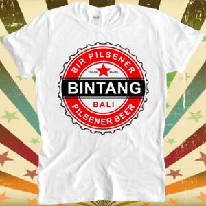 Bali Bintang Beer Pilsener Retro Vintage Hipster Unisex T Shirt 692