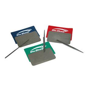 DMT Dia-Sharp Diamond Credit Card Size Sharpeners Set - D3EFC