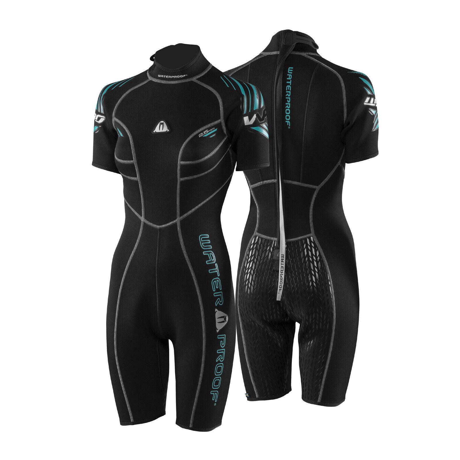 Waterpoof W30 Ladies Shorty 2,5mm - short Warm Water Wet Suit