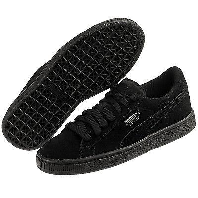 Puma Suede Junior GS 355110 52 Black Women Junior Shoes   eBay