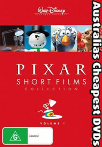 Pixar-Short-Films-Collection-Vol-1-DVD-NEW-FREE-POSTAGE-WITHIN-AUSTRALIA