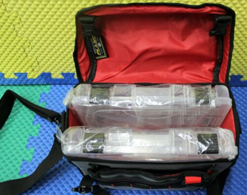Details about  /PLANO Weekend Series 3600 Softsider Tackle Bag With 2 Utility Boxes PLAB36120
