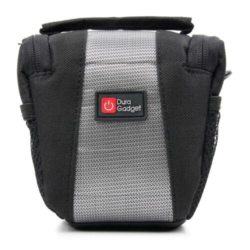 Negro//Plateado Bolso de hombro para Nextbase en coche Dash Cam Cámara 402G//512G//Duo