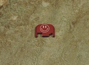 Details about FOR GLOCK RED Slide Back Plate SMILEY FACE GEN 1-4