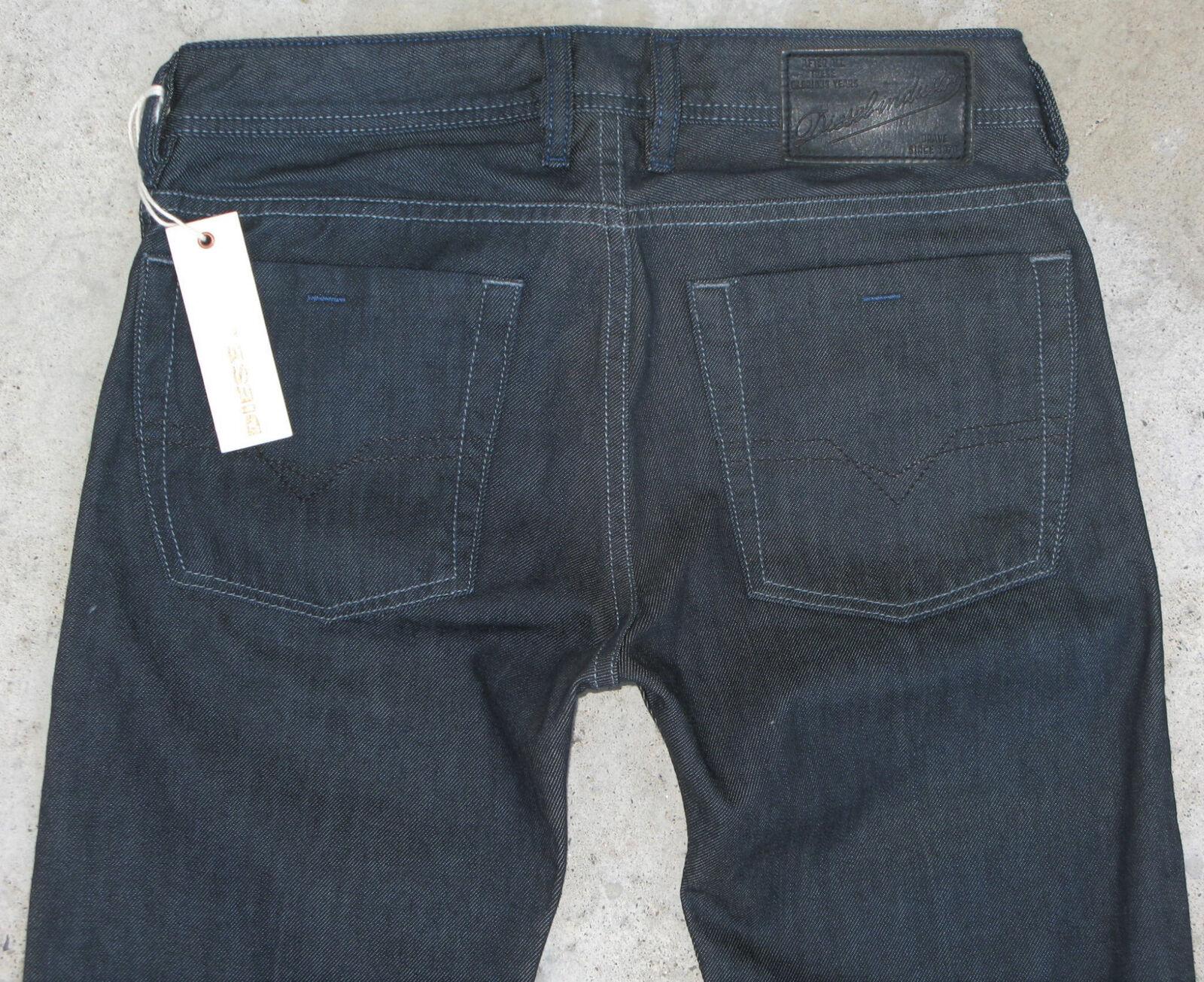 Diesel Mens Zatiny Bootcut Jeans Sz 27 X 32 NEW  Dark Wash 88Z