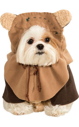 Ewok chien robe fantaisie Star Wars Rebel Film Film SciFi Puppy Pet Costume Outfit