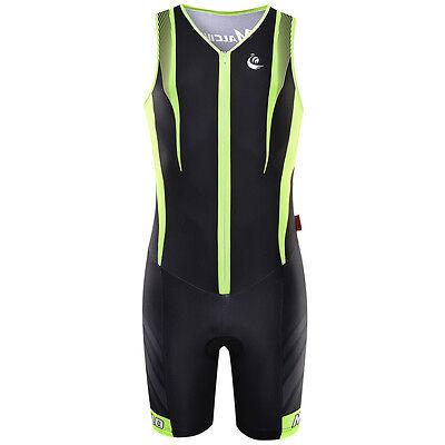 Unisex Body Suit Triathlon One Piece Suit Cycling Jumpsuit Riding Jersey Garment
