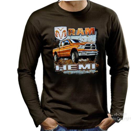 * Licensed Dodge T-Shirt PickUp Ram Hemi Truck Pickup *0050 LS