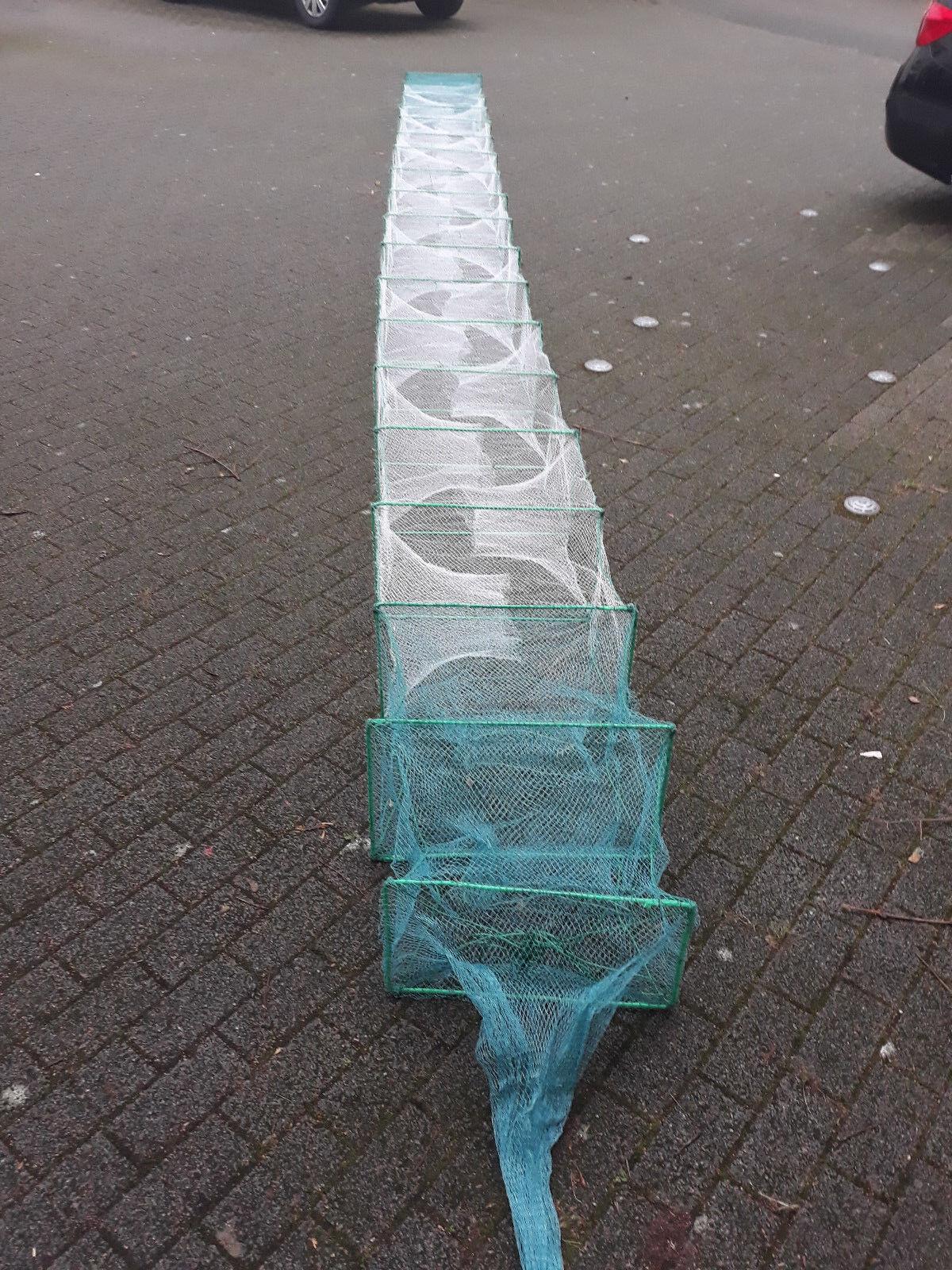 Für Profi Reuse Aalreuse Aal Krebs flusskrebs shrimps  8,5 meter R-50x30cm  limit buy