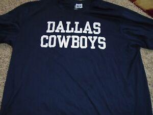 af3fab2fa 2018 NFL Dallas Cowboys Player Issued XL Blue Nike t-shirt player ...