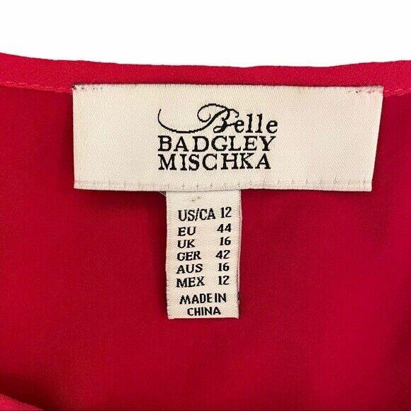 Belle Badgley Mischka   Embroidered & Beaded Dress - image 7