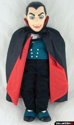 "Death Certificate /""DRAC BAT/"" w 1985 Travelers Trading Co Count Dracula Doll"