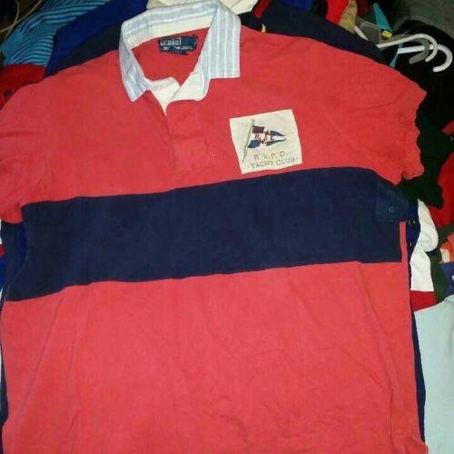 Polo ralph lauren shirt xl yacht club polo