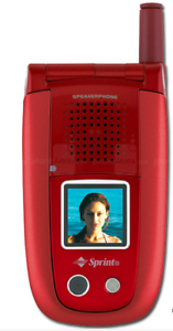 BRAND-NEW-Sanyo-MM-8300-in-Original-Box-Cellular-Speaker-Phone-Red