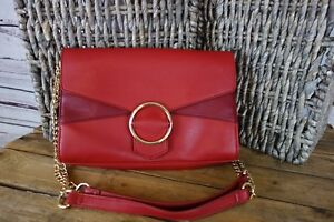 NEW-INC-International-Concepts-Gwenn-Shoulder-Bag-Red-Wine-79-NWT