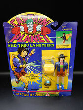 1994 vintage CAPTAIN PLANET Gi Planeteer action figure Tiger Toys MOC ring 90s !