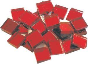 Mosaïque Loisirs Créatifs - Miroir - Rouge -10mm - 100pcs Ferme En Structure