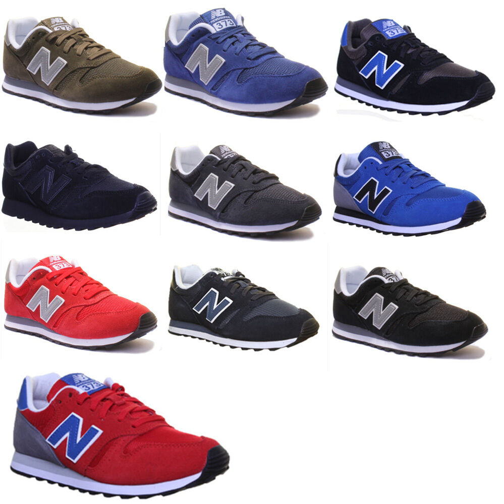 New Balance Ml 373 Modern Classic Suede Leather Trainers 3-6.5
