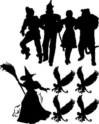 Wizard Of Oz Dorothy Tinman Wicked Witch Flying Monkeys