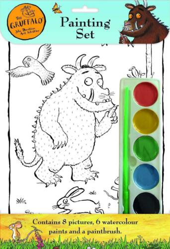 The Gruffalo Childrens Watercolour Painting Set Artist Pads 8 Pictures Kids 3081