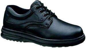 Men's Hush Puppies Black Leather Glen