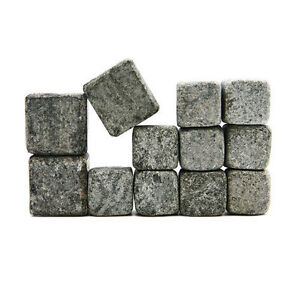 Whiskey Rocks Drink Chillers Sparq Home Recycled Soapstone Ice Cube Substitutes