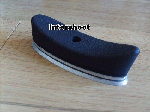 Bisley Adjustable BUTTPLATE BUTT RECOIL PAD Rubber Alloy Gun