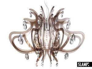 LAMPADA SOSP LAMPADARIO LILLIBET SLAMP Fumè -Trasparent   eBay