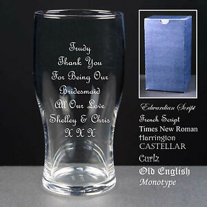 Personalised-Tulip-Pint-Glass-Wedding-Favour-Bridesmaid-Maid-of-Honour-Gift