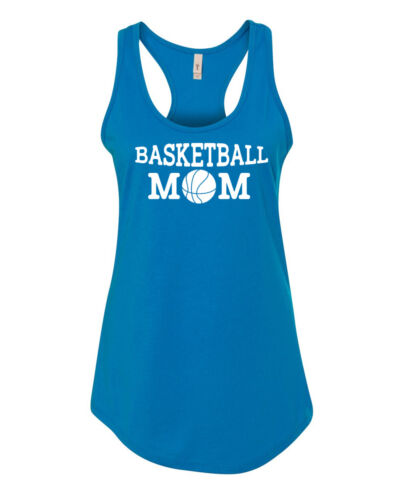 Tank Top Basketball Mom Shirt Sports Tee Present Gift Mama Bear Team Supporter