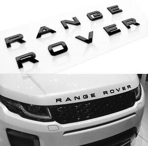 GLOSS BLACK SPORT HSE 1 NEW Range Rover Land Rover Sport trunk badge emblem