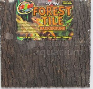 Zoo Med Terrarium Forest Tile Background Small 12 Quot X 12