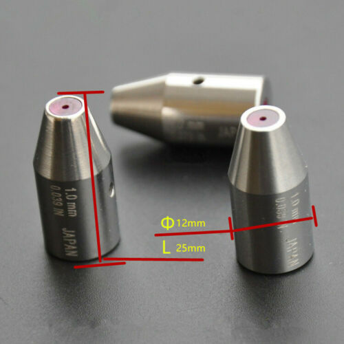 1PC EDM Drilling Puncher Machine Parts Wire cut Ruby Electrode Guide  Φ12*25mm