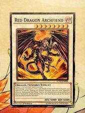 YU GI OH Arcidemone Drago Rosso LC5D-EN069 Comune