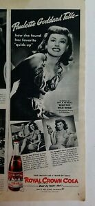 1942-RC-Royal-Crown-Cola-Paulette-Goddard-reap-the-wild-wind-star-vintage-ad