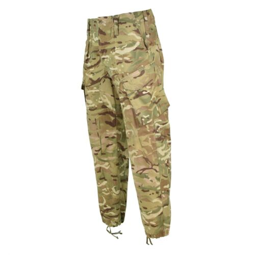 Genuine British Army Pants Military Combat MTP field Cargo Temperate Trousers