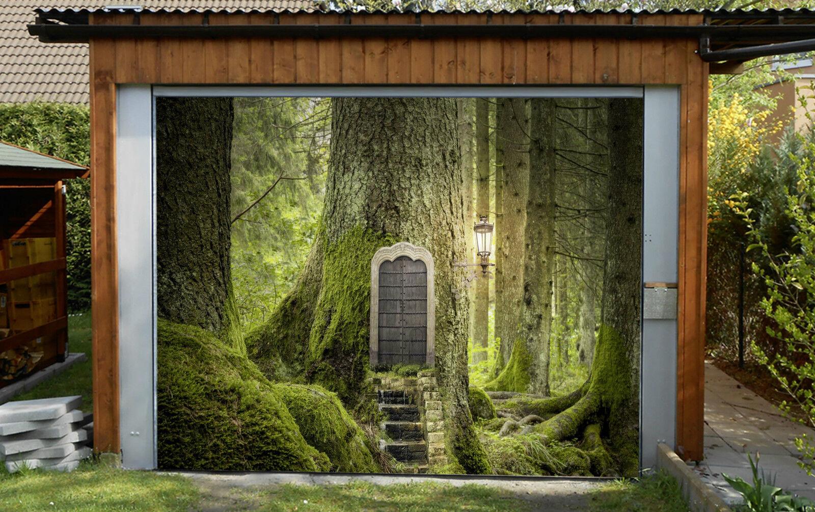 3D Tree House 303 Garage Door Murals Wall Print Decal Wall Deco AJ WALLPAPER IE