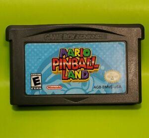 Mario-Pinball-Land-Nintendo-Game-Boy-Advance-2004-Tested-GBA-Cartridge
