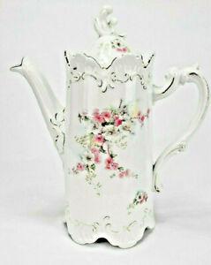 Sehr schöne ANTIK Jugendstil Kaffeekanne Porzellan 19/20 Jahrhundertwende
