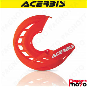 COPRIDISCO PROTEZIONE DISCO FRENO  ACERBIS XBRAKE FRONT DISC COVER KTM ORANGE