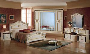 Das Bild Wird Geladen Italienisches Schlafzimmer Royal Maeander Design  Medusa Meander Gold