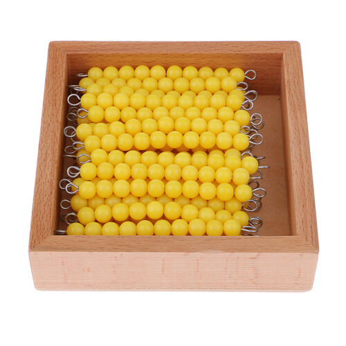 Mathematics Checker Board Ten Beads Educational Toy Kids Learning Tools