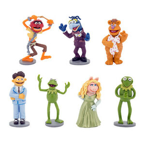 7PCS DISNEY THE MUPPETS ACTION FIGURES KIDS FIGURINES DOLL ...