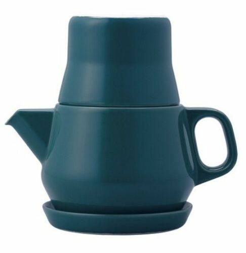 NEW KINTO COULEUR TEA FOR ONE TEAPOT POT CUP SAUCER SET KITCHEN DINNERWARE JAPAN