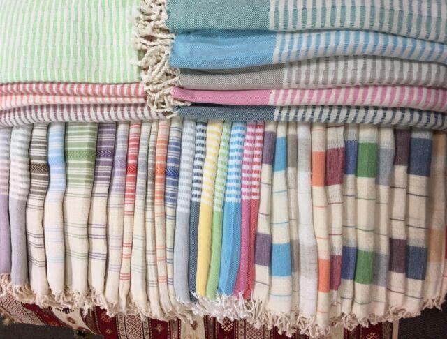 Turkish Towel Bath Spa Sauna Beach Yoga Large Towel Peshtemal High Quality