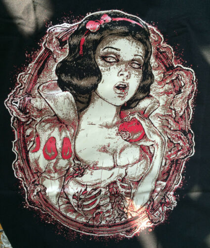 Restyle Tank Top Gothic Schneewittchen Zombie Snow White Rockabilly Punk WGT RT7