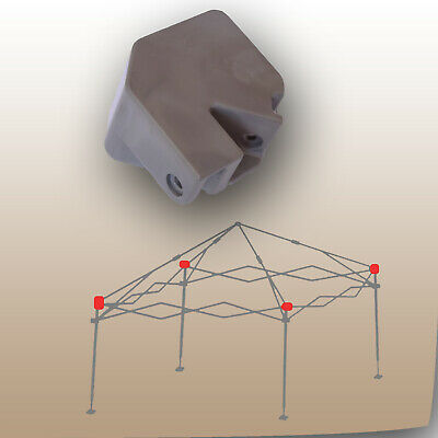 10 x 10 Canopy Gazebo Leg Bracket CAP CONNECTOR Repair Parts for Coleman New Style 12 x 12