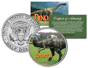 EORAPTOR-Collectible-Dinosaur-JFK-Kennedy-Half-Dollar-U-S-Colorized-Coin