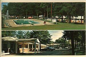 CORNELIA-GA-SKYLAND-MOTEL-1976-POOL-OLD-CARS-POSTCARD